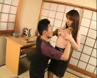 japan leather-skirtgirl-blow job01 - scene 7