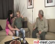 Old Couple With Teen - Find Her From Milf-meet