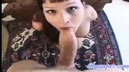 This slut gets fucked while shoving a dildo up her ass