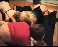 Hot Swedish amateur orgy part1 - scene 9