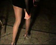 Shiny pantyhose 1-2 - scene 1