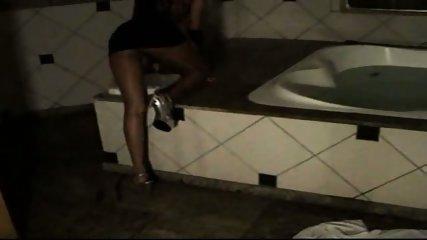 Shiny pantyhose 1-2 - scene 2