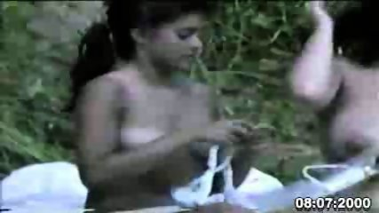 Nudist Mother and Daughter on Spycam - scene 11