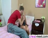 She Is On Cheat-meet - Stepbro Caught Virgin Sis