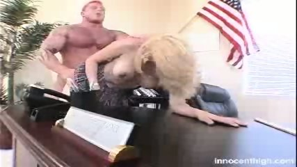 Busty homecoming Queen fucks her professor for high grades - scene 2