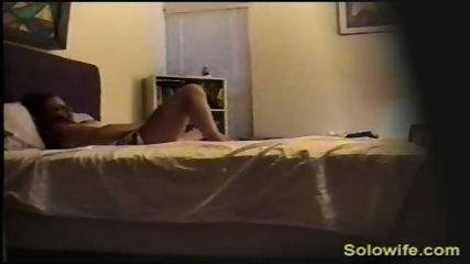 Hidden camera toy fucking
