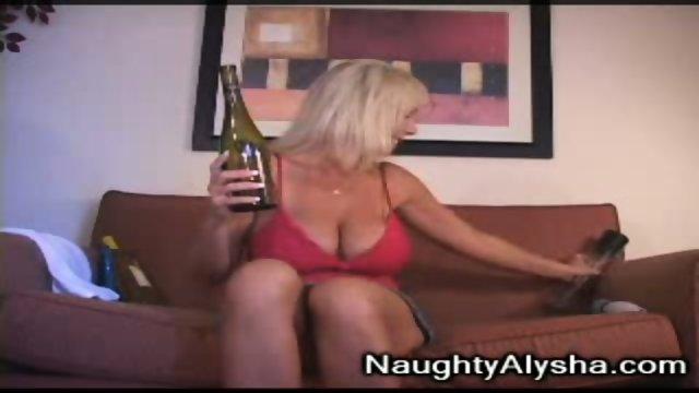 Wine bottle insertion