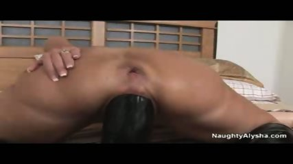 Alysha plays with big toys - scene 10