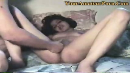 A guy is fingering his wifes wet pussy - scene 7