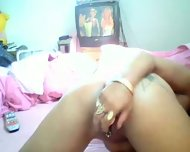 Latin Chick Playing With Herself - scene 10