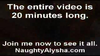 Alysha and her toys - scene 12