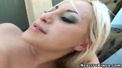 Big Titted blonded fucked on top of car - scene 2