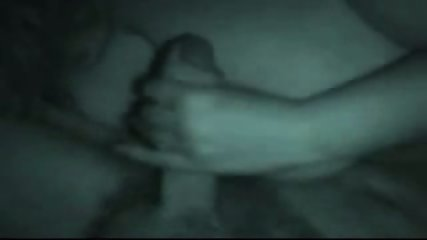 Night vision amateur blowjob - scene 10