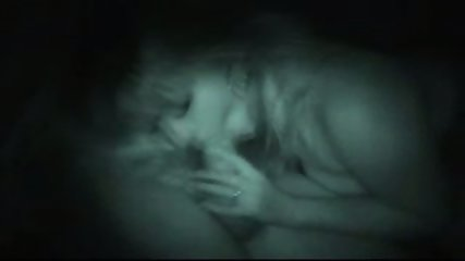 Night vision amateur blowjob - scene 1