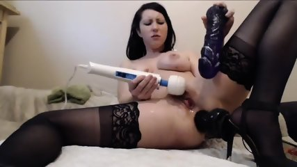 Milf Squirting From Double Penetration - scene 6