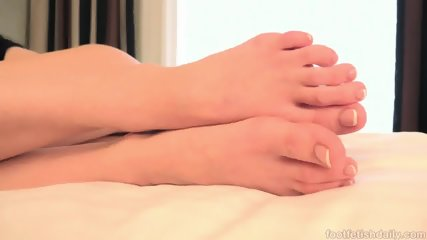 Kacy Lane - Foot Fetish Daily - scene 6