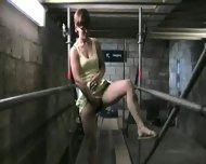 Masturbation and Blowjon in Train - scene 1