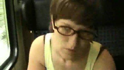 Masturbation and Blowjon in Train - scene 11