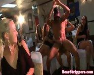 Girlfriend Sucks Off Stripper At Dinner Party