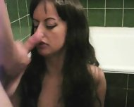 sexy brunette in first movie - scene 12