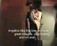 sexy brunette in first movie - scene 2