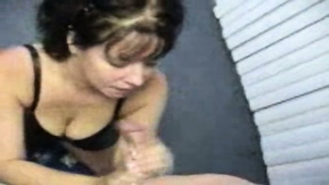 Hot Brunette Tough Cum Swallow