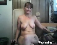 Dirty Granny Gets Naked