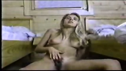 Hairy Amateur masturbating - scene 7