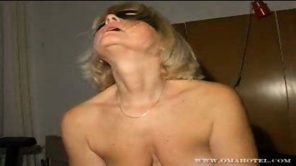 Lesbian granny action with dildo - scene 1