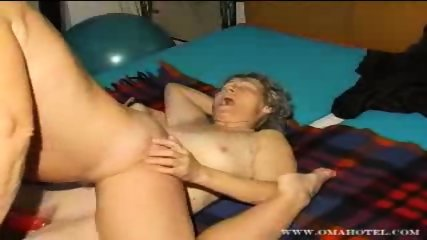Lesbian granny action with dildo - scene 6