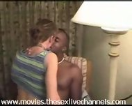 Amateur interacial wife gets fucked - scene 3