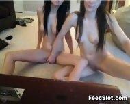 Beautiful Teen Lesbians Playing - scene 12