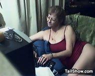 Horny Grandmother Chats - scene 1