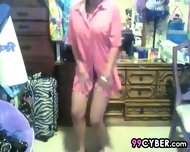 Dark Teen Cam Girl Twerking - scene 1