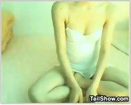Hairy Korean Webcam Girl - scene 1