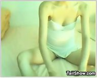 Hairy Korean Webcam Girl - scene 2