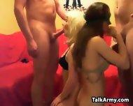 Dirty Sluts In A Foursome - scene 12