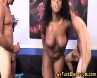 Chubby Black Slut Rides - scene 10