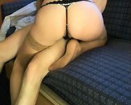 Sweet fuck on a Couch - scene 5