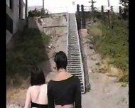 Goth Lesbians - scene 3