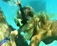 In the sea off Thailand - scene 3