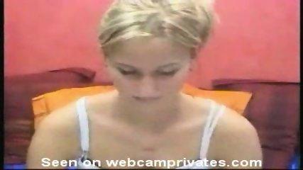 Cutie girl in front of webcam - scene 1