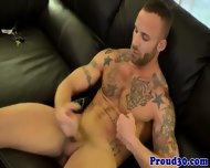 Hunky Dilf Derek Parker Jerking His Cock