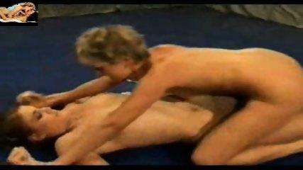 Lesbian Oil Catfight - scene 5