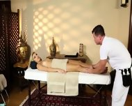 Poor Customers Banged And Banged On Massage Table - scene 12