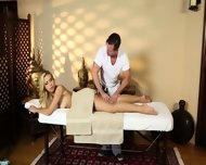 Poor Customers Banged And Banged On Massage Table - scene 2
