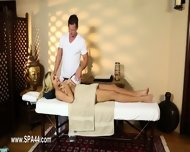 Poor Customers Banged And Banged On Massage Table - scene 5