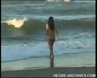 Nude Beach Yoga by Anahi Flores - scene 9