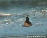 Nude Beach Yoga by Anahi Flores - scene 10