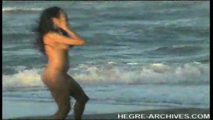 Nude Beach Yoga by Anahi Flores - scene 11
